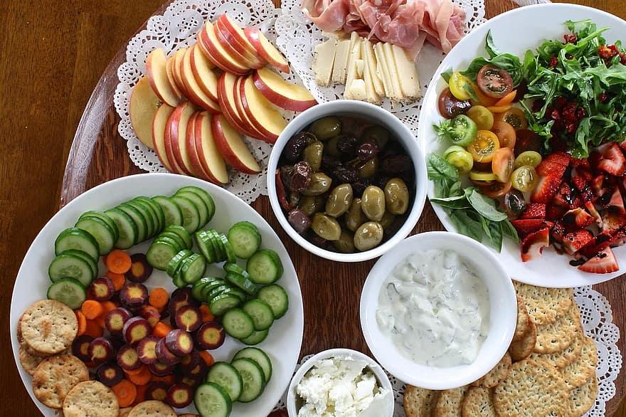 Eté : 5 menus avec des fruits et légumes de saisons